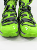 UNDER ARMOUR Men Green Grey White Micro G Charge Volt Sneakers Shoes 8.5