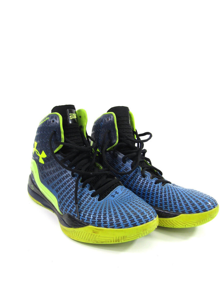 detailed look 9aedf 8f043 Under Armour Lorena's Worth · UNDER ARMOUR Blue Green Black Micro G Clutch  Fit Drive Academy Sneakers Shoes 8.5 ...