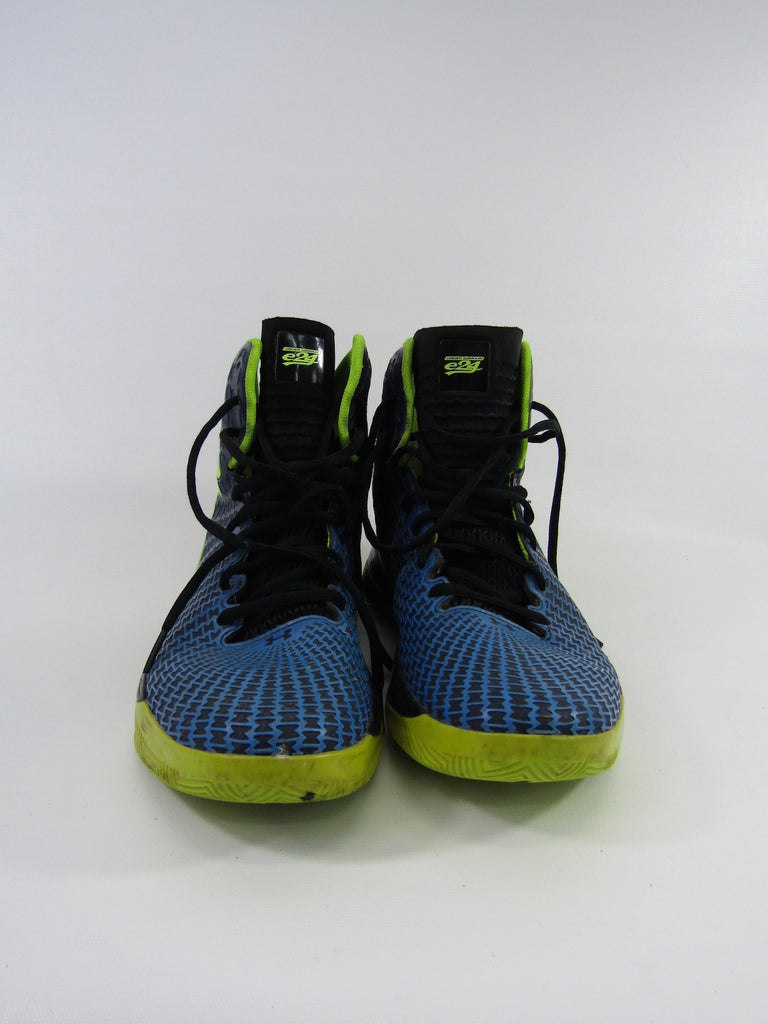 reputable site b9aab b117c ... UNDER ARMOUR Blue Green Black Micro G Clutch Fit Drive Academy Sneakers  Shoes 8.5 ...