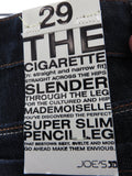 NEW! JOE'S Women Dark Wash Super Slim Pencil Leg Cigarette Skinny Jeans 29