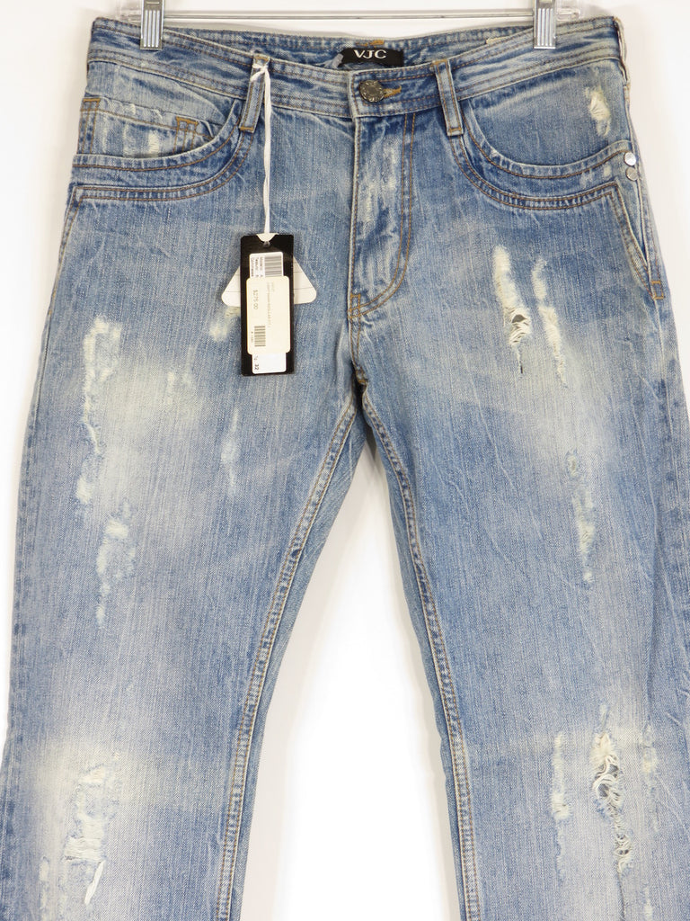 all-over distressed jeans - Blue Versace Jeans Couture Clearance Lowest Price Discount Best Prices PuT16cv