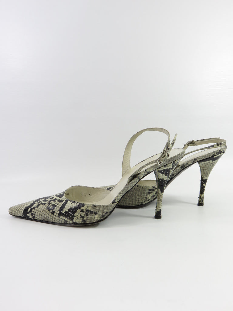 latest sale online Stuart Weitzman Python Buckle Pumps footlocker finishline online from china cheap online quality from china cheap 2CnYr4tJ7P