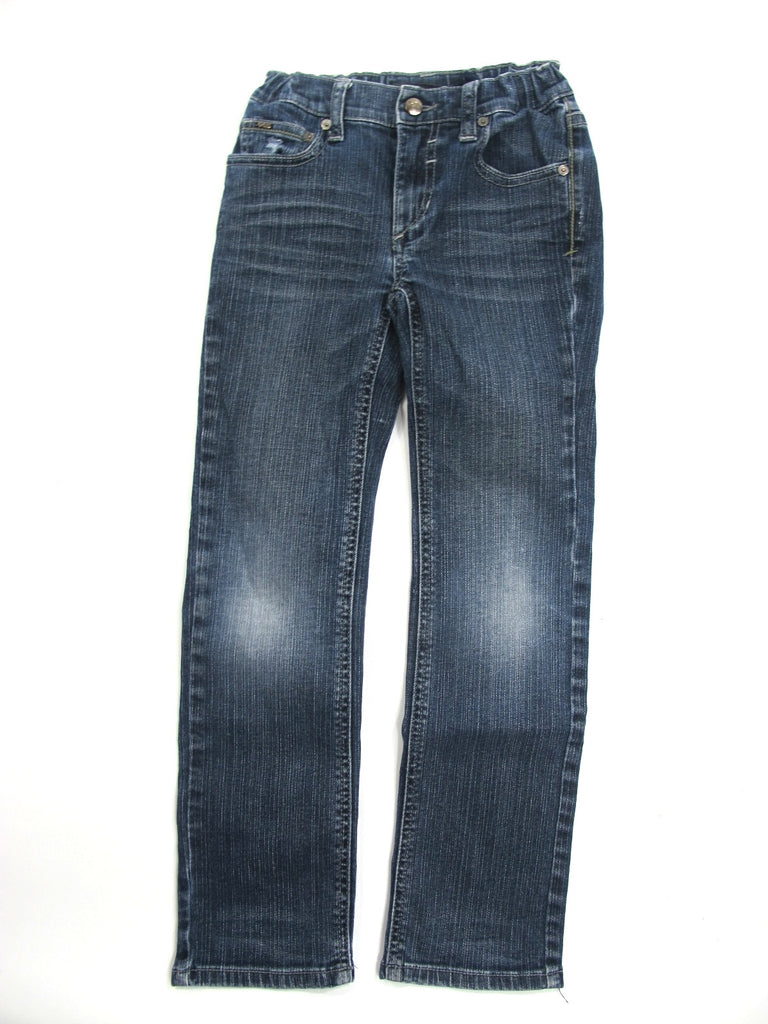 JOE'S JEANS Unisex Dark Wash Straight Leg Classic Bottom Pants Jeans Size 7