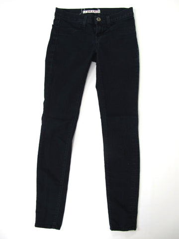 J. BRAND Women Dark Wash Black Blue Denim Skinny Slim Leg Bottom Pants Size 24