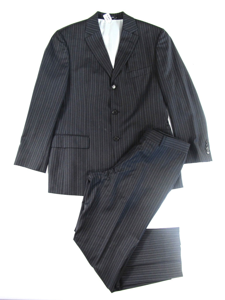 HUGO BOSS gray pinstripe suit Lorena's WORTH