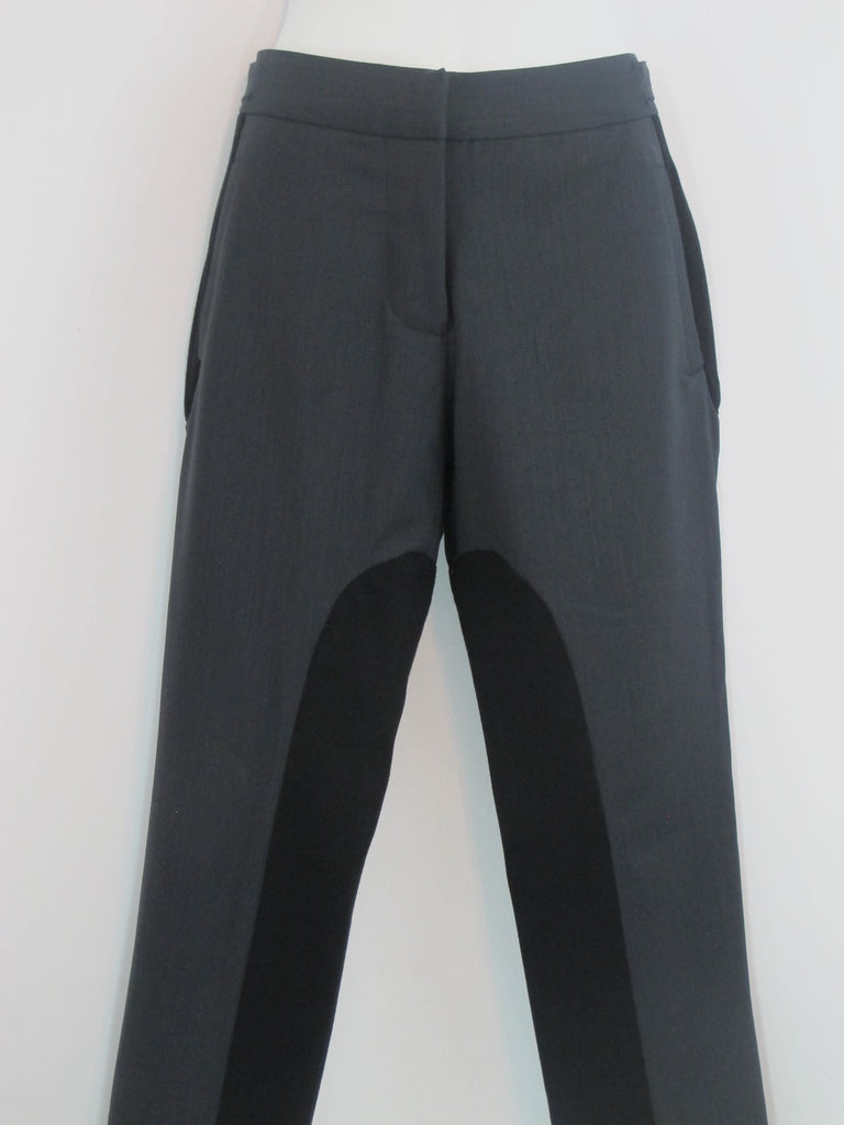 ELIZABETH AND JAMES Women Gray & Black Bottom Pants Slim Skinny Size 2