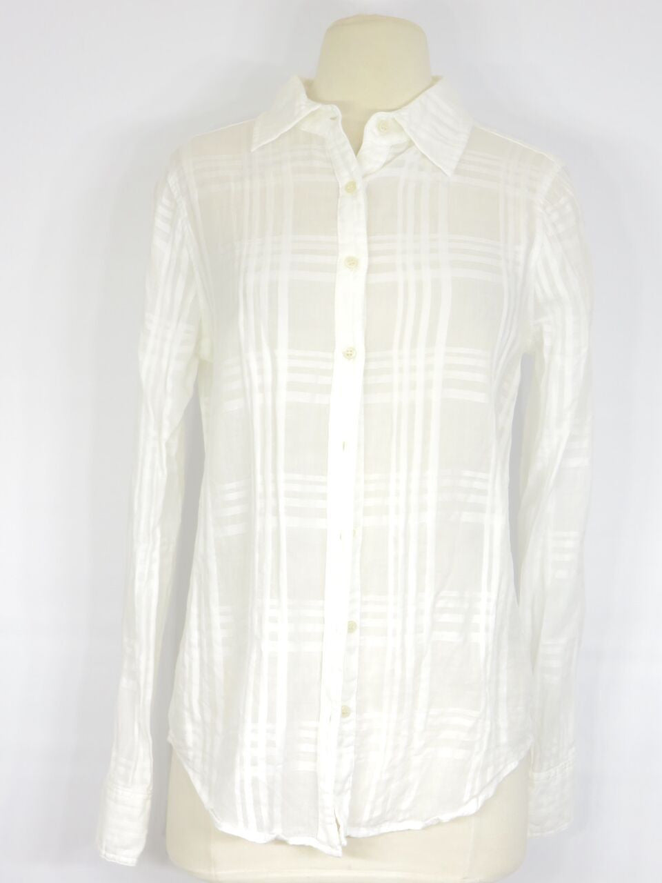 59e8229d White Long Sleeve Button Down Shirt Womens – EDGE Engineering and ...