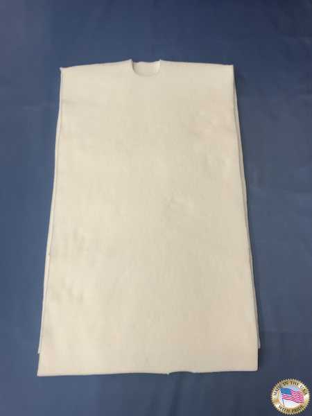 ID#: A001004-Ajax Shirt Unit-Shirt Pad 50oz For Model CBBYV/DFBV  *Made In USA*