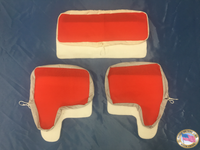 ID#: U003005-Unipress Cuff N Collar-Set Model PCF Red Nomex (Cover and Pad) *Made In USA*
