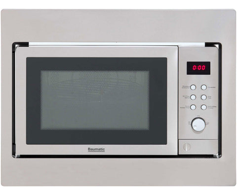 Baumatic BMC253SS -25 Litre Combination Built-in Microwave Oven with Grill