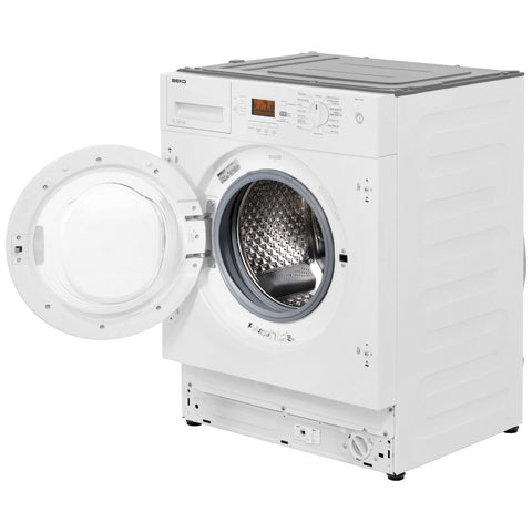Beko WMI71641 Built In Washing Machine - White