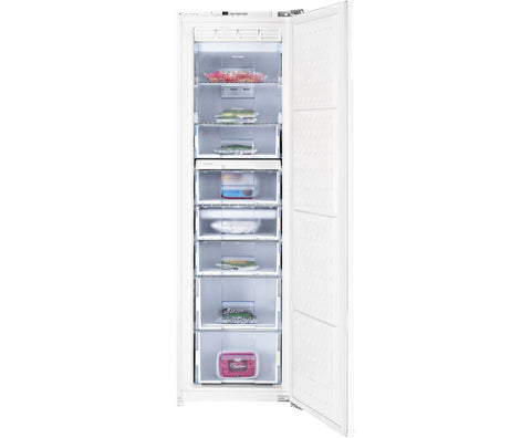 Beko BZ77F Built In Upright Freezer - White
