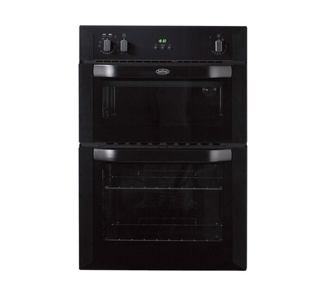 BELLING BI90FP Electric Double Oven - Black