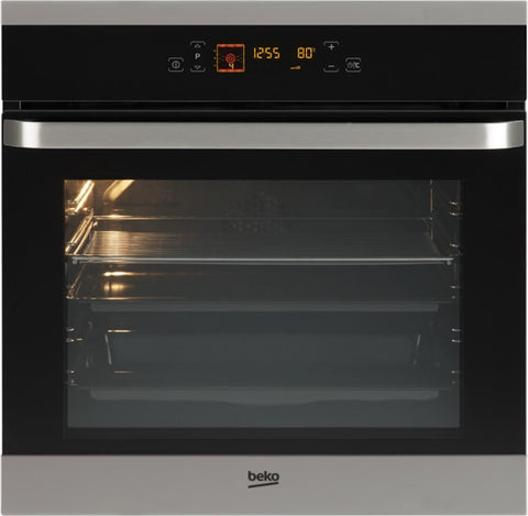 Beko OIM25603X A Rated 65 Litre Built in Single Electric Oven with Top Grill