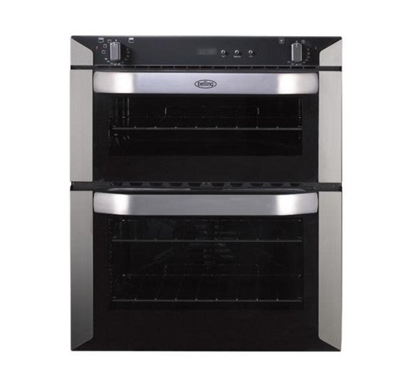 Fuel Induction Service >> BELLING BI70F Electric Built-under Double Oven Stainless ...