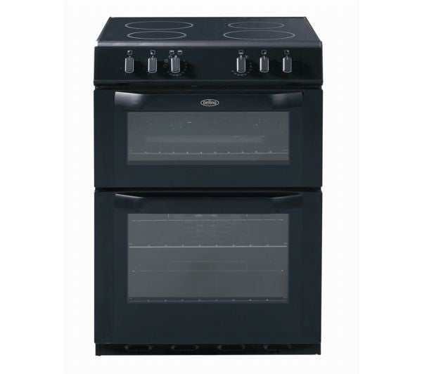 Fuel Induction Service >> Belling FSE60DO 60cm Electric Double Oven Cooker in Black – Safeer Appliances Ltd