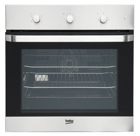 BEKO OIF22100X BUILT IN ELECTRIC SINGLE OVEN - STAINLESS STEEL