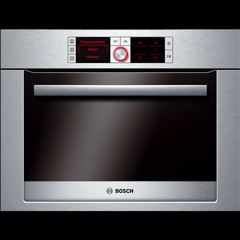 Bosch Logixx HBC36D754B Built In Combination Steam Oven in Brushed Steel