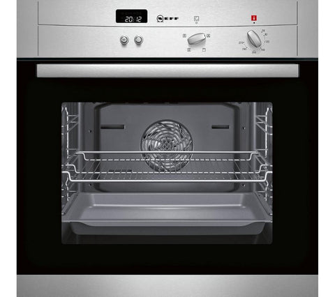 Neff b12s32n3gb electric oven stainless steel safeer appliances ltd neff b12s32n3gb electric oven stainless steel publicscrutiny Choice Image
