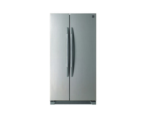 DAEWOO DRS30SMI American-Style Fridge Freezer Free-Standing and Side