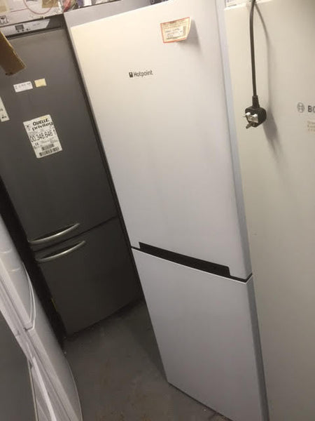 Hotpoint Lc85f1w Fridge Freezer White Safeer
