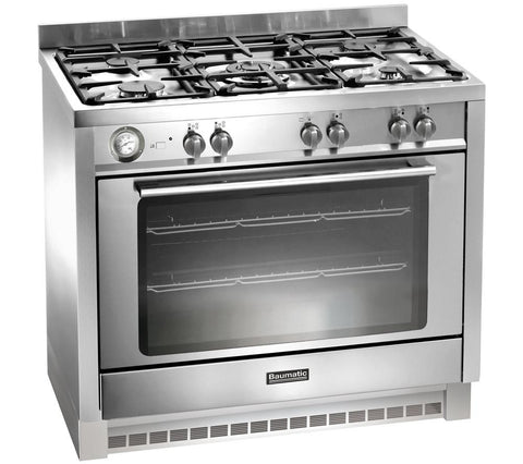 BAUMATIC BCG905SS Gas Range Cooker - Stainless Steel