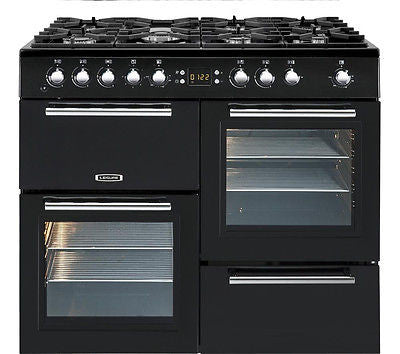 LEISURE AL100F230K A La Carte 100 Dual Fuel Range Cooker - Black
