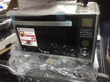 LG MJ3281BCS Combination Microwave & Convection Oven, Black / Stainless Steel