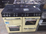 BELLING Country Range 1000GT Gas Range Cooker - Cream