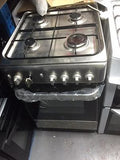 Indesit IS50G1(XX) Full Gas Cooker Single Oven Stainless Steel