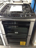 ZANUSSI ZCG551GXC 55CM STAINLESS STEEL GAS COOKER