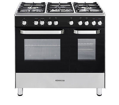 KENWOOD CK405-1 Dual Fuel Range Cooker - Black