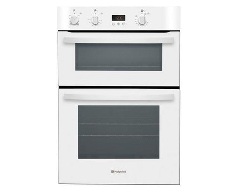 HOTPOINT DH53W Electric Double Oven - White Built-in