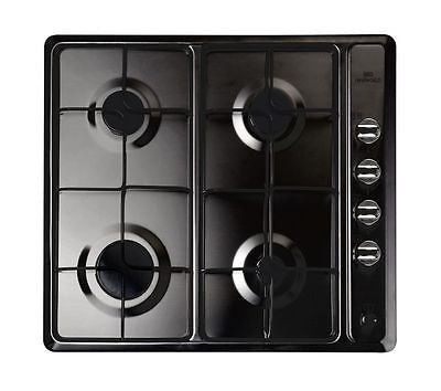 NEW WORLD NWGHU601 Gas Hob - Black