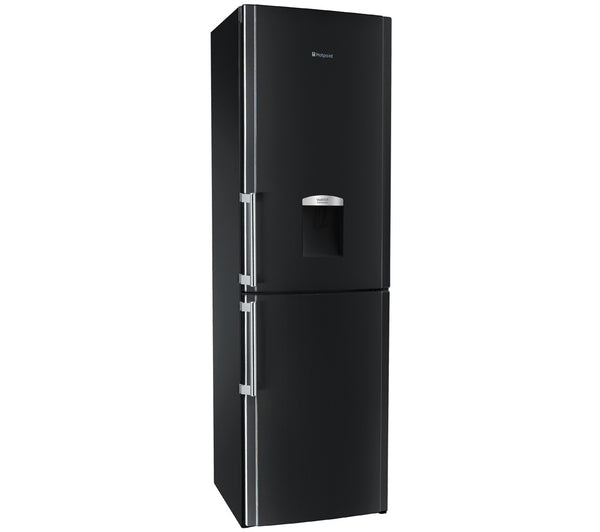 Hotpoint Fflaa58wdk Fridge Freezer Black Safeer