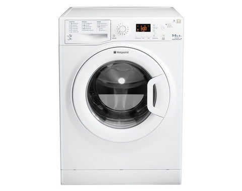 Hotpoint Aquarius WDPG 9640P Washer Dryer - White