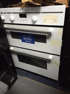 Indesit Fimu23wh Electric Built Under Double Oven White