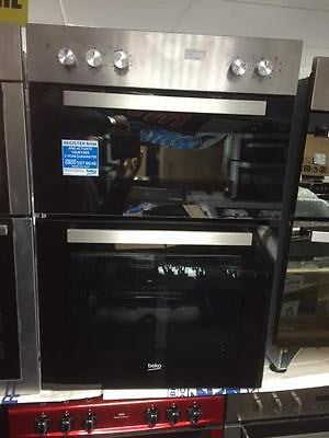 Beko Bxdf21100x Electric Double Oven Stainless Steel