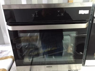 Beko Oim25603x A Rated 65 Litre Built In Single Electric Oven With