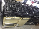 Belling 90dft lh 90cm Dual Fuel Range Cooker CREAM 444443385