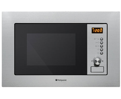 Hotpoint MWH122.1X  Built In Microwave Oven in Stainless Steel 800W 20L