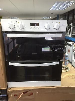 Zanussi Zof35511wk Electric Built Under Double Oven