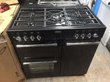 Belling Classic 90GT 90cm Gas Range Cooker in Black