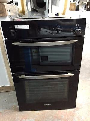Bosch Hbm13b160b Electric Double Oven Black Safeer