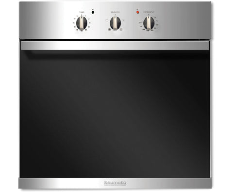 Baumatic BSO612SS Built In Electric Single Oven - Stainless Steel