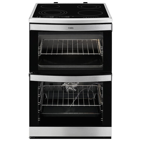 AEG 49176V-MN 60cm Electric Cooker - Stainless Steel
