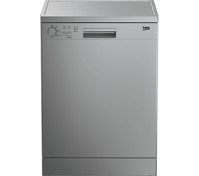 BEKO DFC04210S Full-size Dishwasher - Silver Energy rating: A+