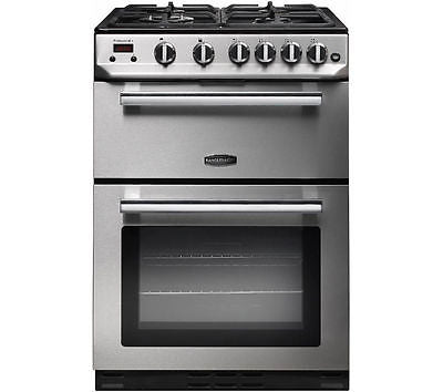 RANGEMASTER Professional 60cm Gas Cooker - Stainless Steel