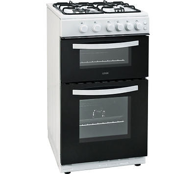 LOGIK LFTG50W16 50cm Gas Cooker - White