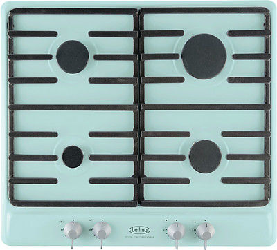 Belling Sebastian Conran Collection SCGHU60GC Pastel Green 4 Burner Gas Hob